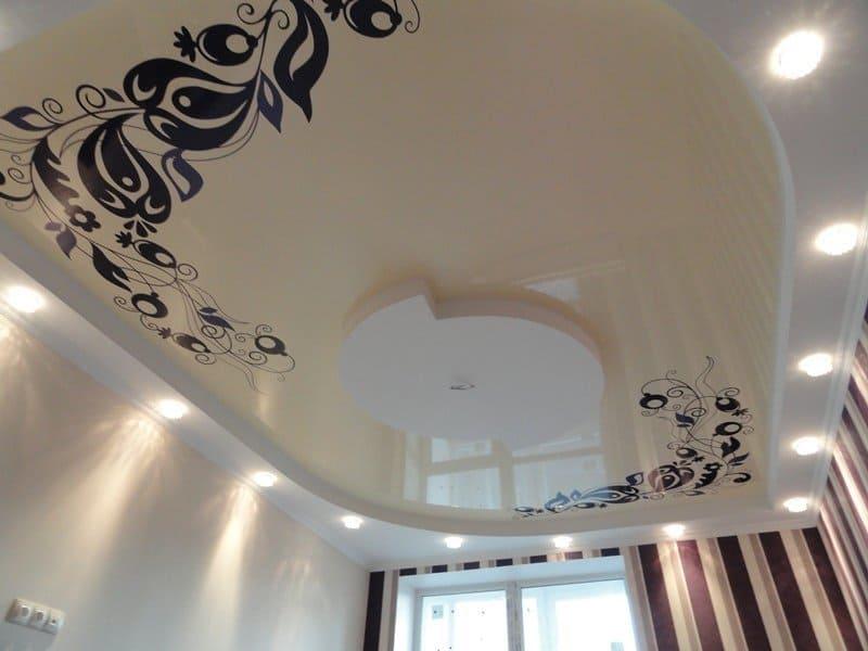 натяжной потолок з фотопечаттю